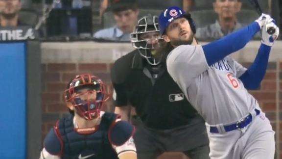 Cubs find their bats, beat Braves 9-3 to snap 5-game skid