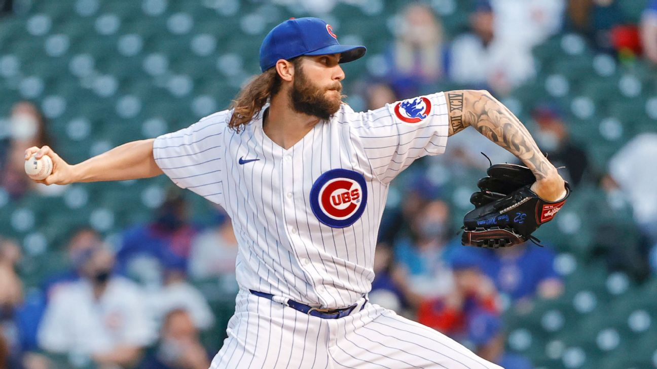 Chicago Cubs righty Trevor Williams put on IL with appendicitis
