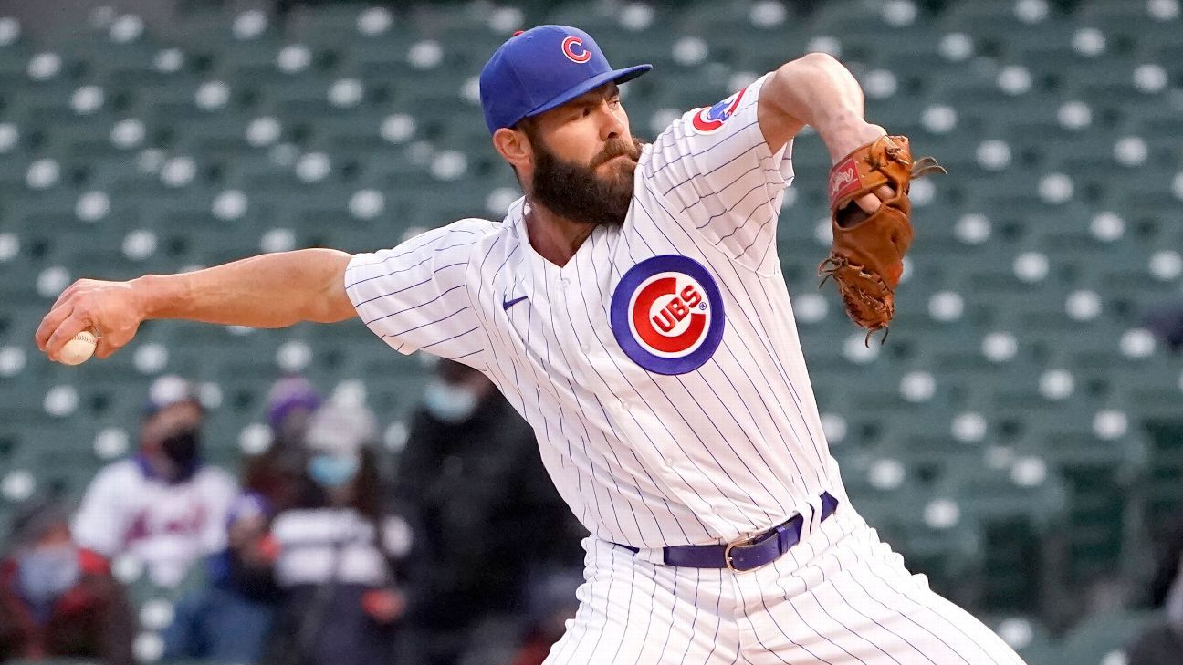 Cubs activate Jake Arrieta, Nico Hoerner from injured list for Tigers