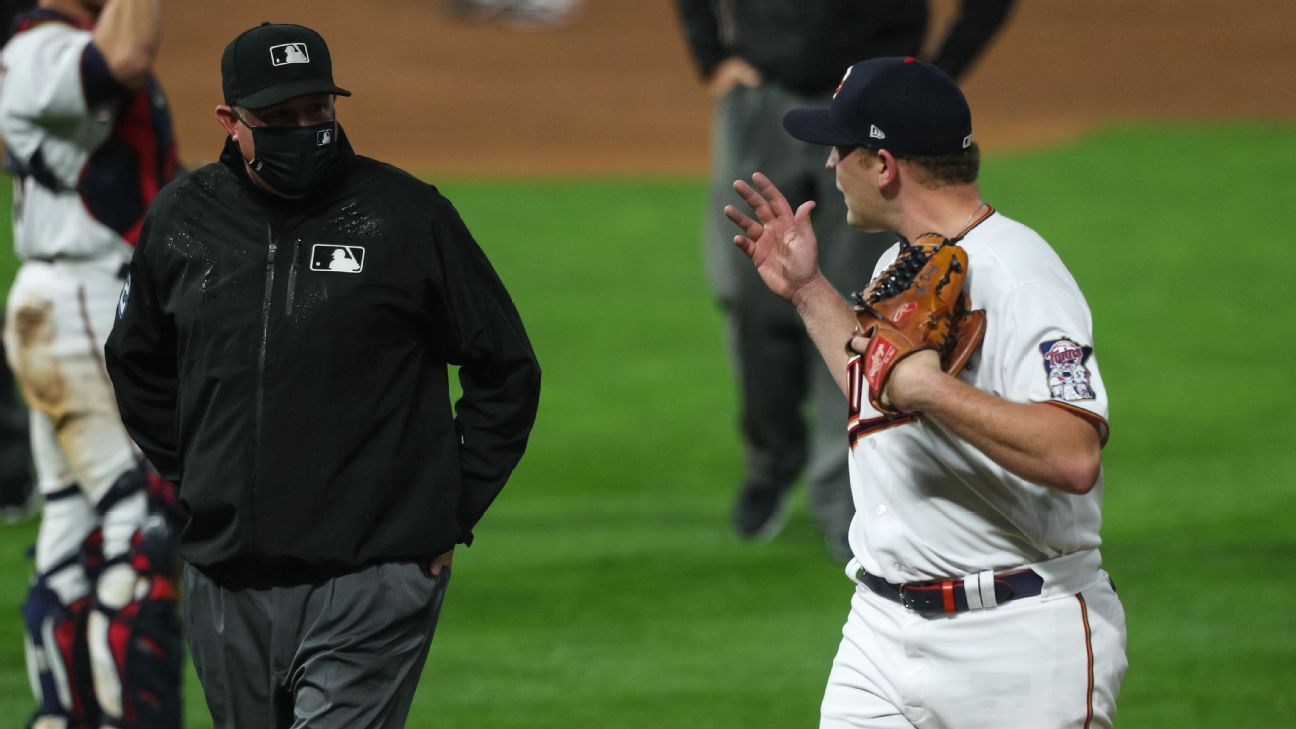 Minnesota Twins' Tyler Duffey suspended 3 games for throwing behind Yermin Mercedes; manager Rocco Baldelli gets 1-game ban