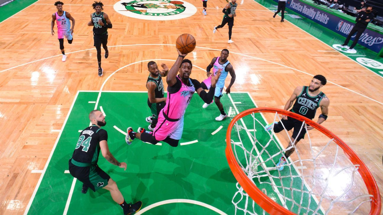 NBA playoff watch - Miami Heat put the Boston Celtics on the brink of the play-in tournament