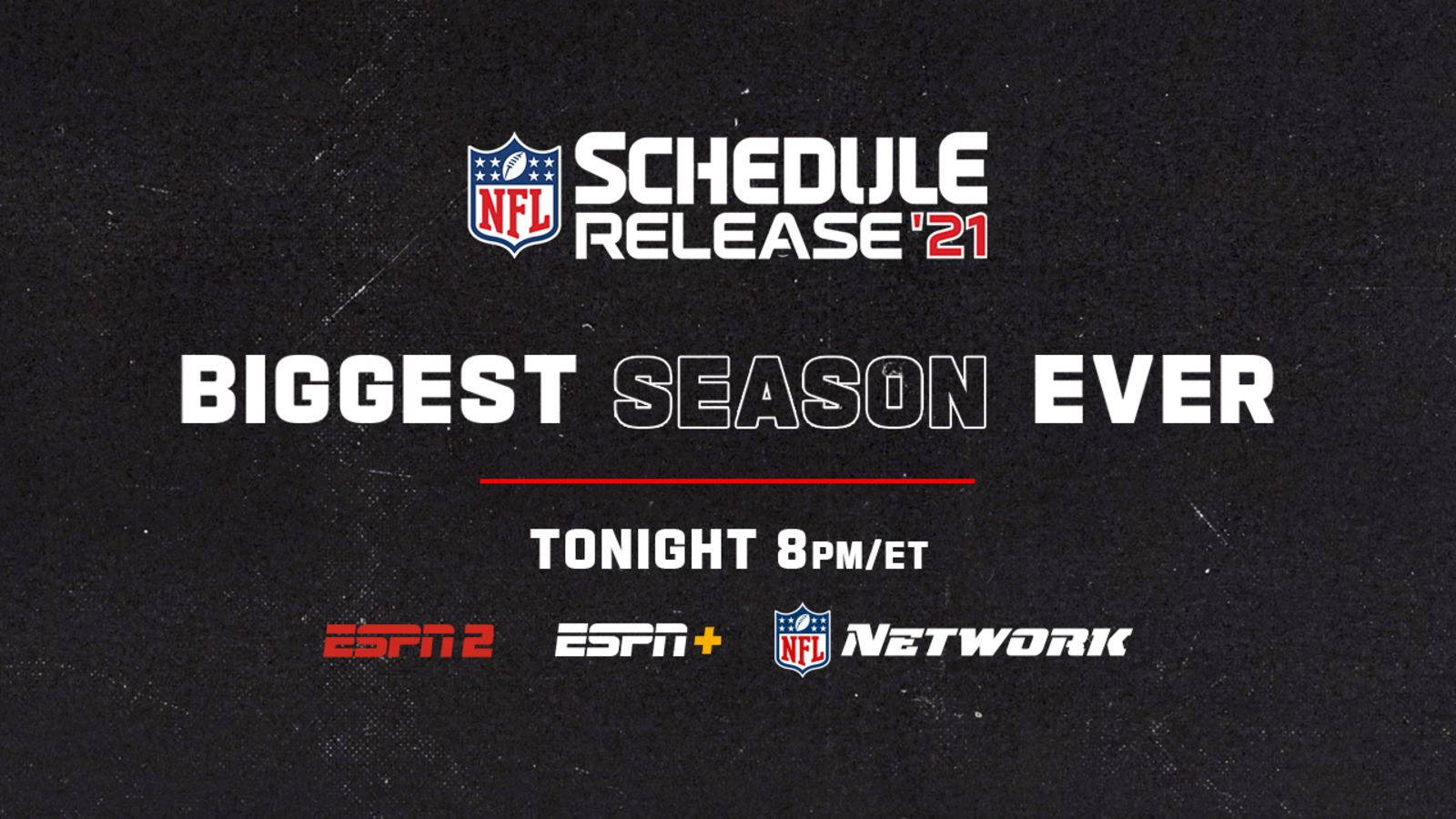 NFL Schedule 2021: Monday Night Football kicks off with Ravens v. Raiders matchup | Full announcement on ESPN2, EPSN+