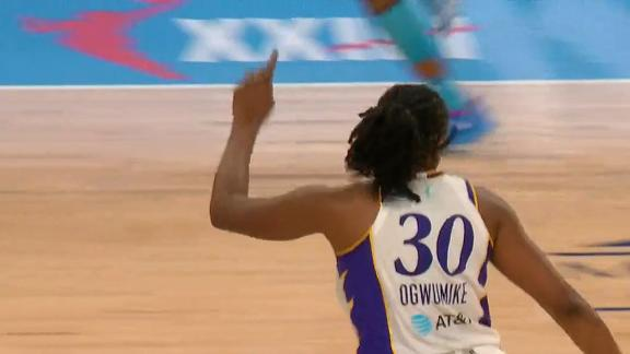 Sparks use balanced attack to defeat Sky 76-61