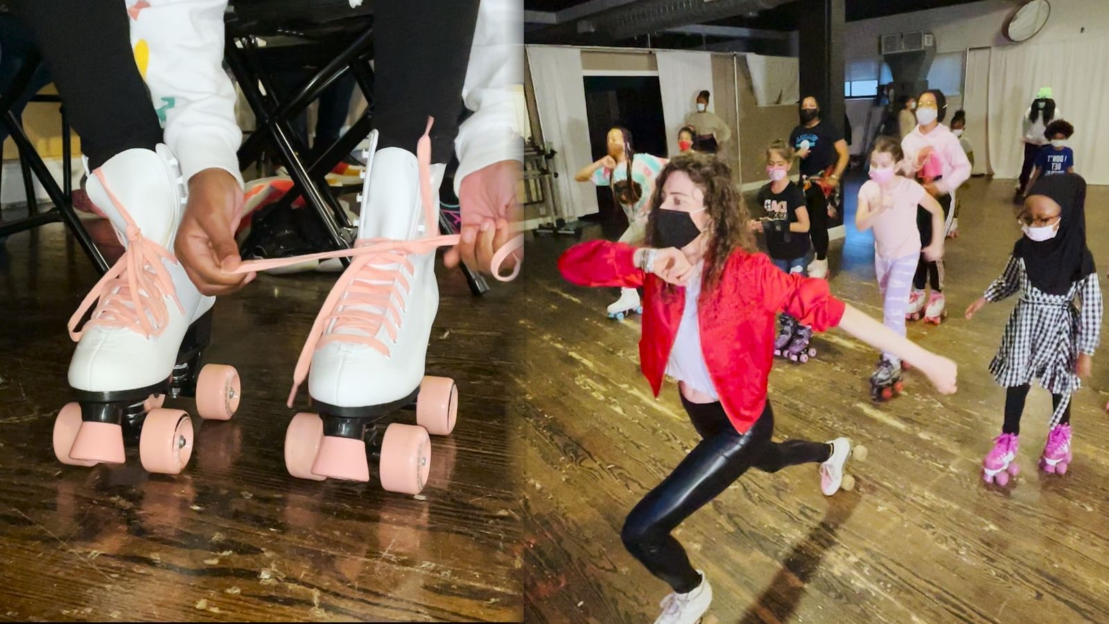 The Miss'ile Roller Skating Dance Company invites you to dance on wheels