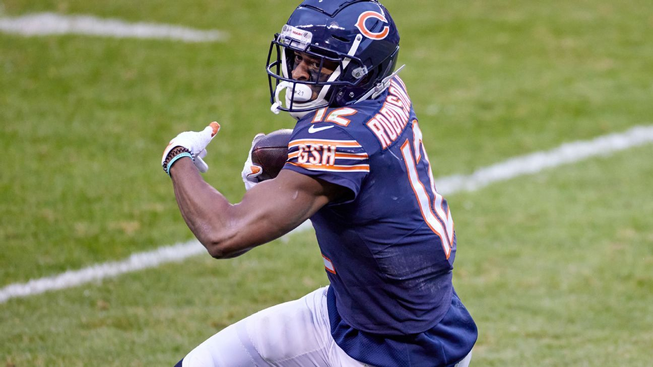 Chicago Bears WR Allen Robinson resigned to possibly playing season on one-year deal