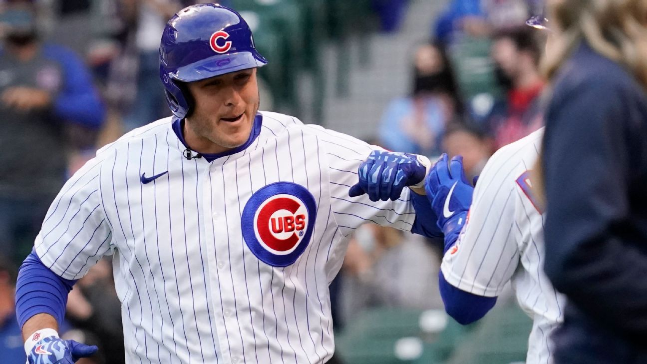 Chicago Cubs' Anthony Rizzo waiting for more 'data' on COVID-19 vaccine