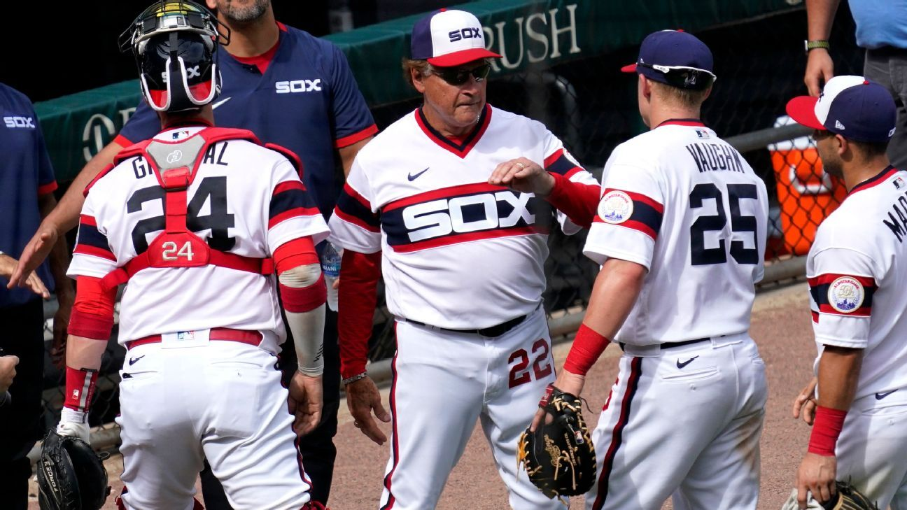 Chicago White Sox's Tony La Russa passes John McGraw for second-most career wins by MLB manager