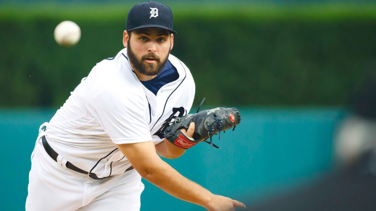 Detroit Tigers place RHP Michael Fulmer on 10-day IL with shoulder injury