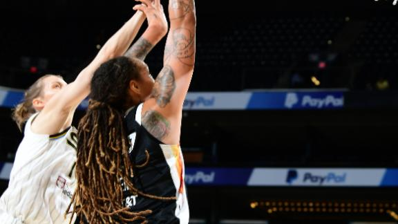 Diggins-Smith scores 28 to help Mercury beat Sky again