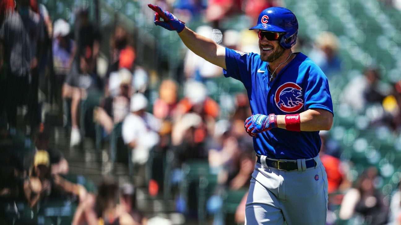 Inside Chicago Cubs rookie Patrick Wisdom's improbable stretch of home run history