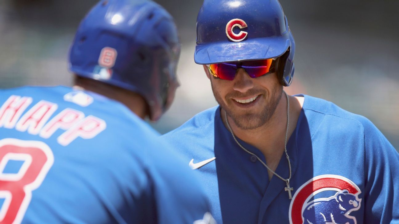 Patrick Wisdom hits two more homers, continues to be 'a real offensive force' for Chicago Cubs