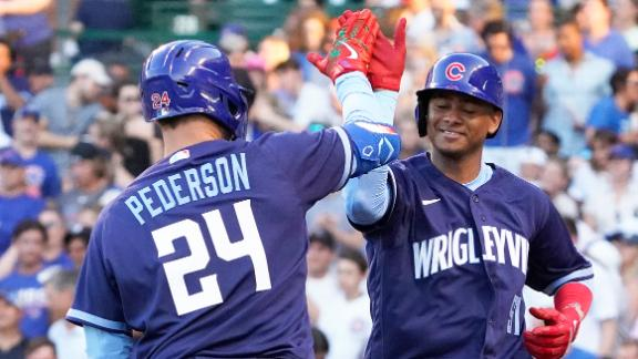 Pederson homers in 3rd straight game, Cubs beat Cards 7-2