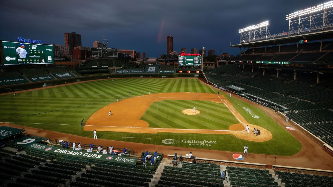 Sources: Chicago Cubs, Chicago White Sox irked with city slow to reopen