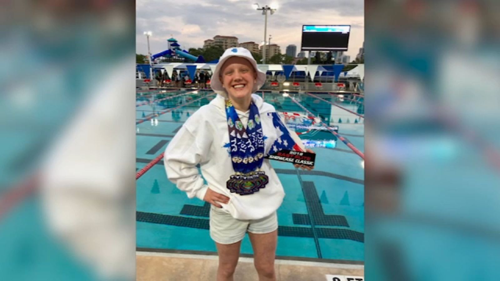 Sugar Grove teen Leah Hayes to make Olympic swimming trial debut in Omaha in hopes of making Team USA