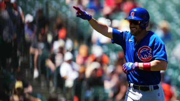 Wisdom homers twice for Cubs, who avoid sweep with 4-3 win