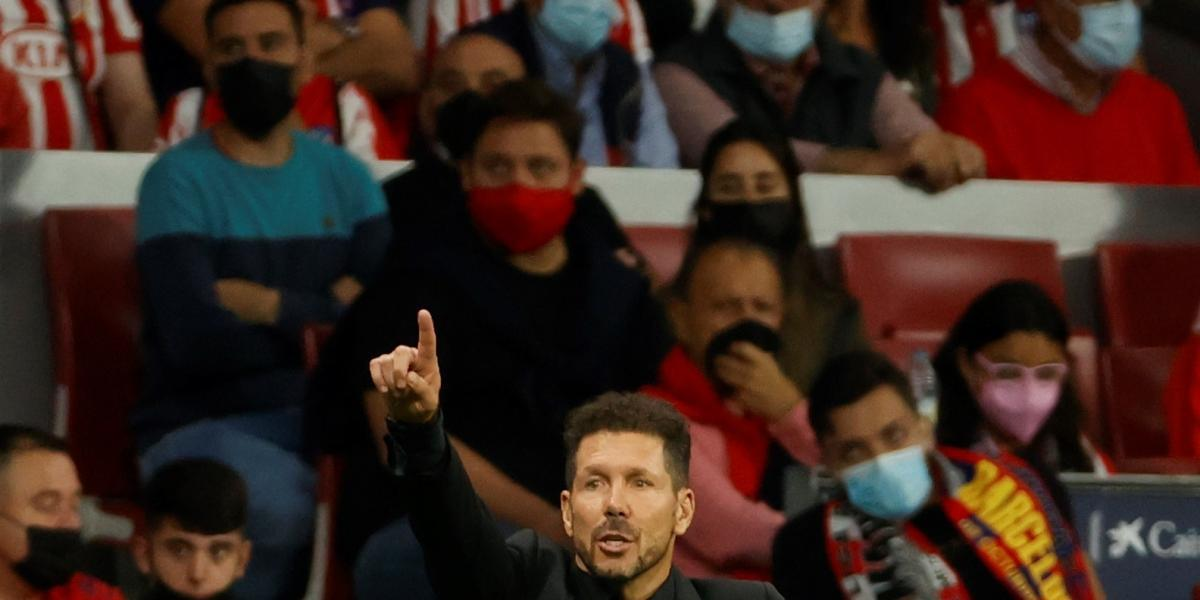 Simeone shows his most intimate side