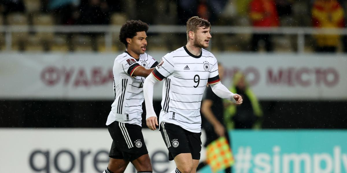 Germany thrashes and is the first classified for the World Cup
