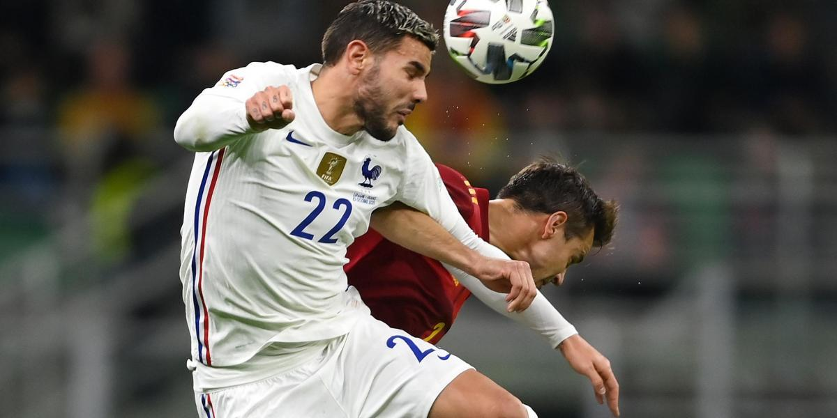 Theo Hernández tests positive for Covid